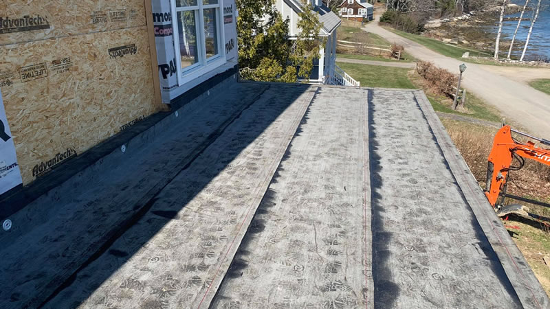 Modified Bitumen Roofing Installation